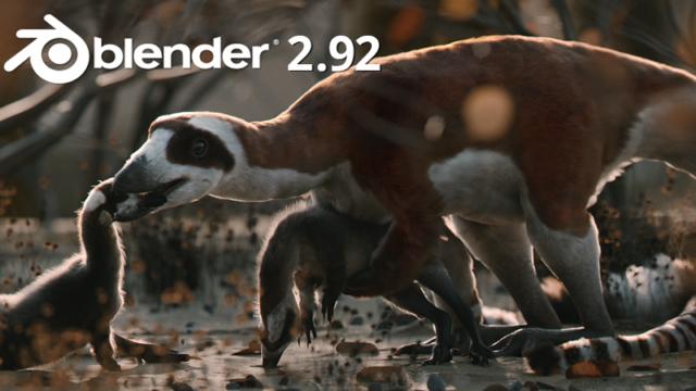 Blender2.92リリース