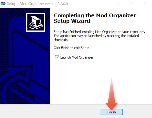 MO2のインストール完了