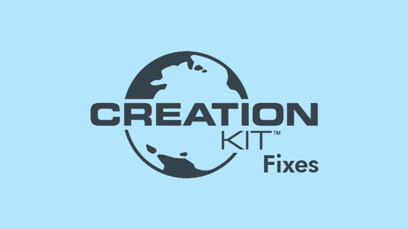 SSE CreationKit Fixes