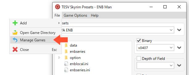 ENBManゲーム選択画面に戻る