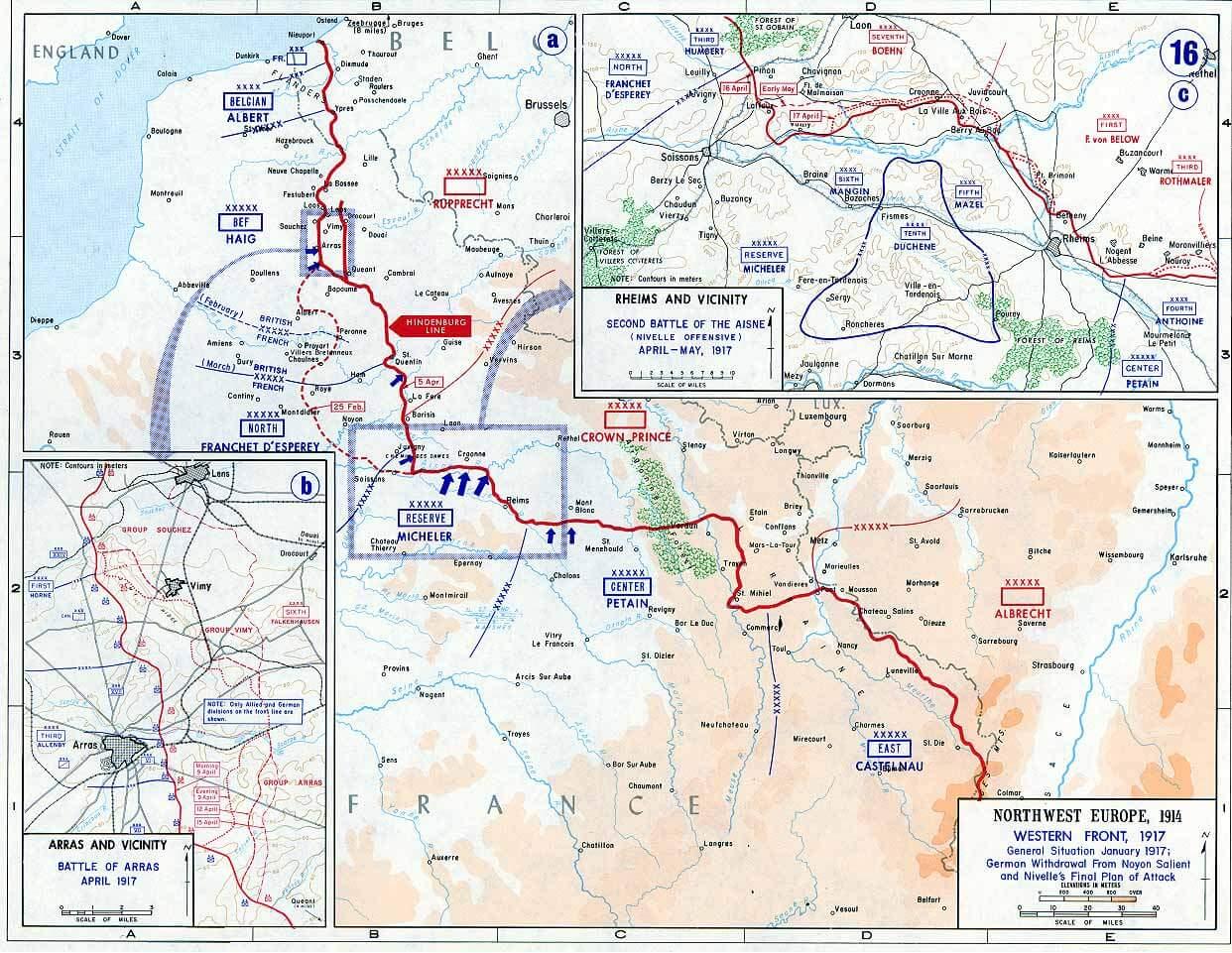 1917の西部戦線
