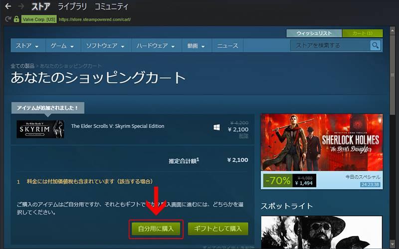 PC版スカイリムの購入方法|skyrimshot